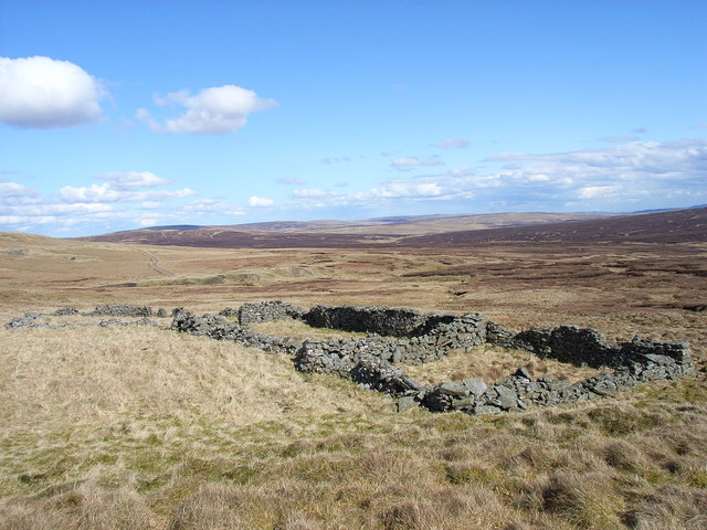 Old sheepfold, Slate Sike