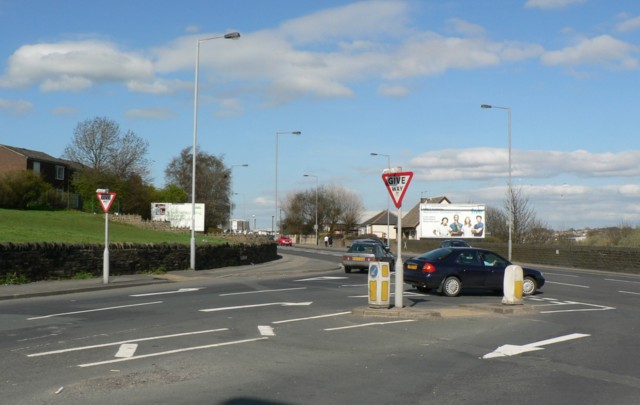 New Lane Junction, Laisterdyke