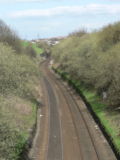 Railway Cutting, Laisterdyke