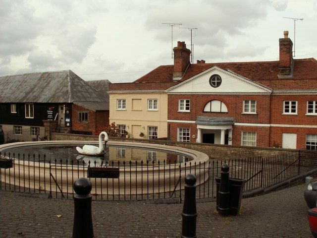 The Fountain at Mistley, Essex
