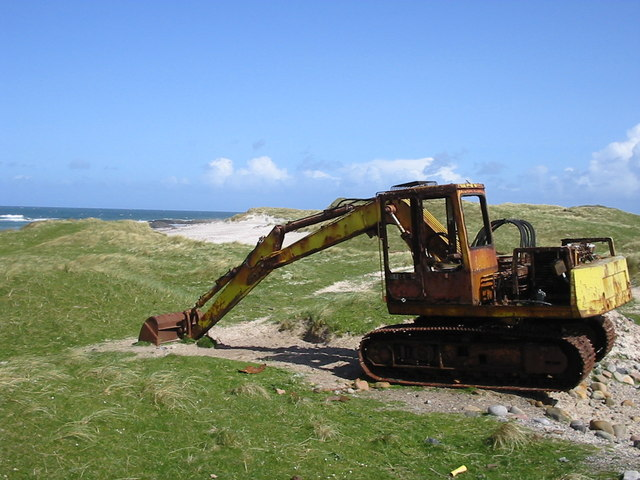 Digger on the dunes