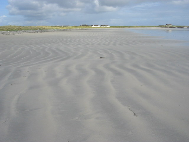 Sand ripples on Gott Beach
