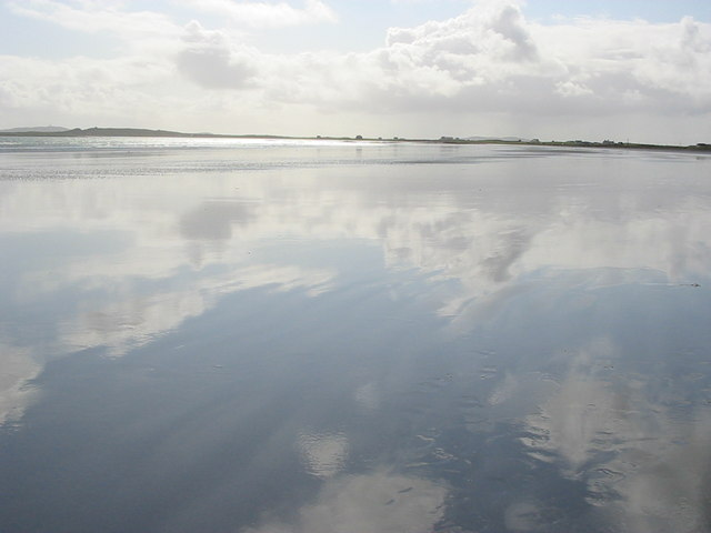 Reflections on Gott Beach