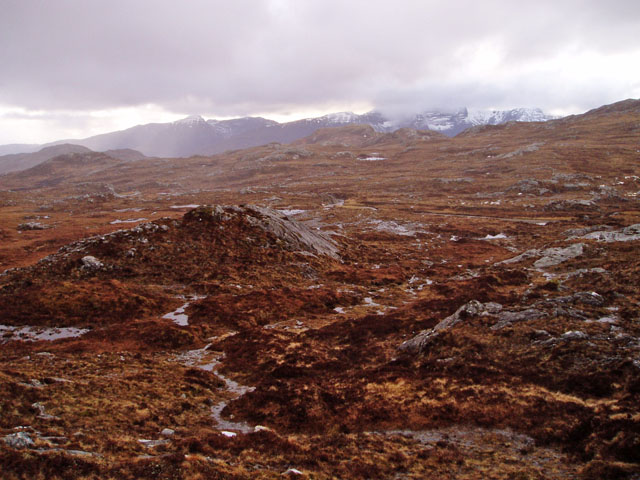 Corrie at the head of Allt a' Chuirn
