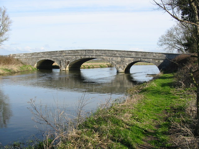 Ibsley bridge River Avon Hampshire