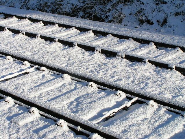 Snow on the main line
