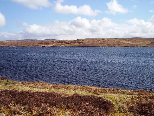 Loch Loyal and Druim na Fèithe