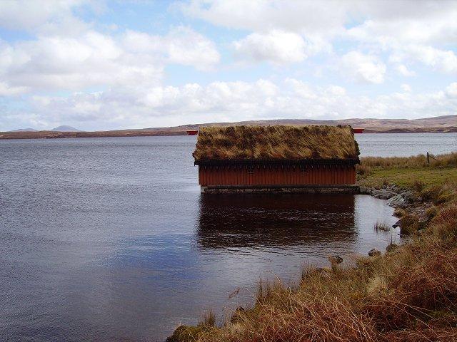 Boathouse, Loch Loyal Lodge