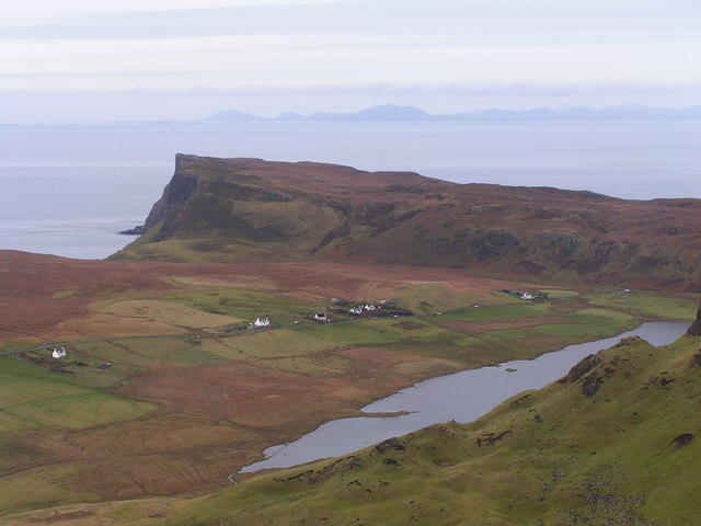 Waterstein with views to the Hebrides