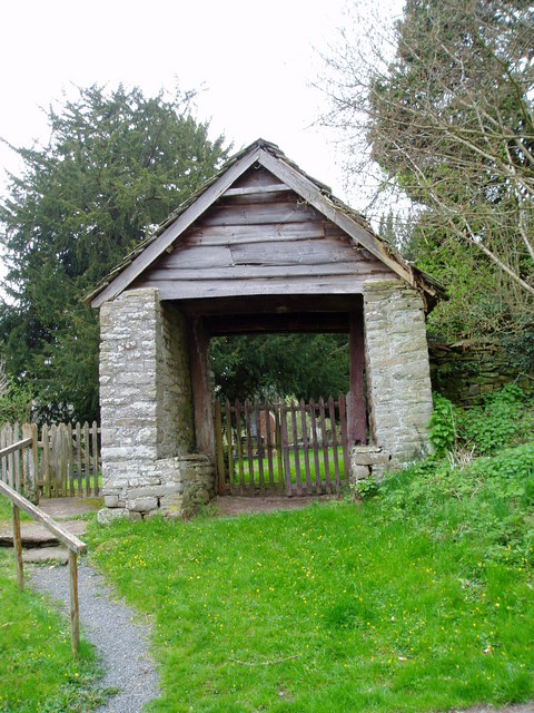 Lych Gate at Llandefalle Church