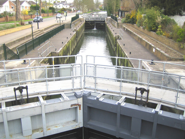 River Thames: Boulter's Lock, Maidenhead