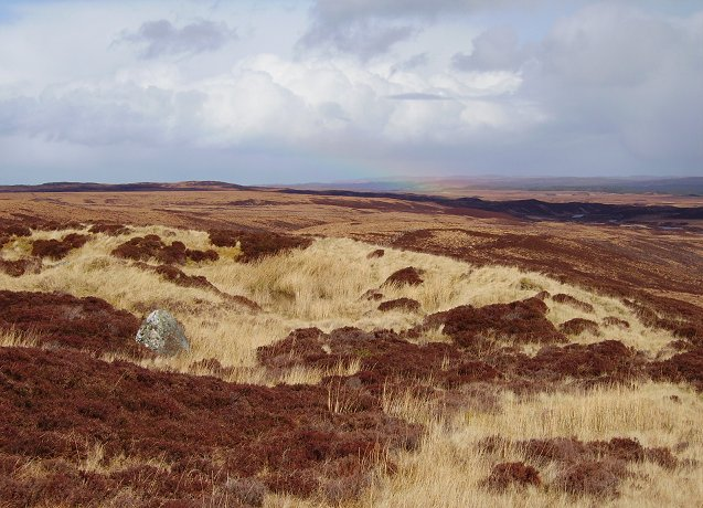 Quarry and moors.