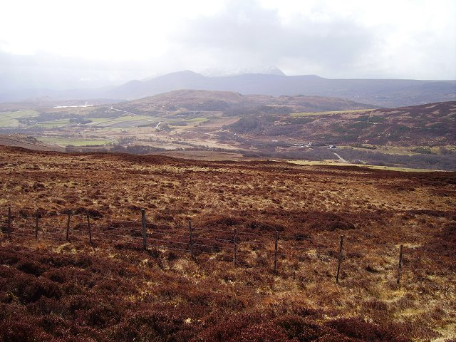 Moorland above Hysbackie