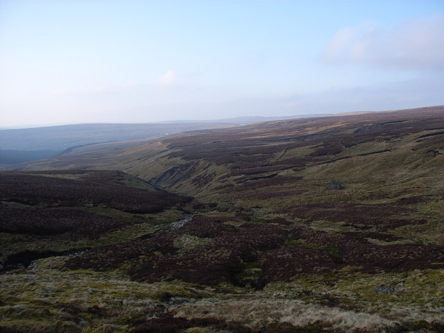 Little Gill, upper reaches