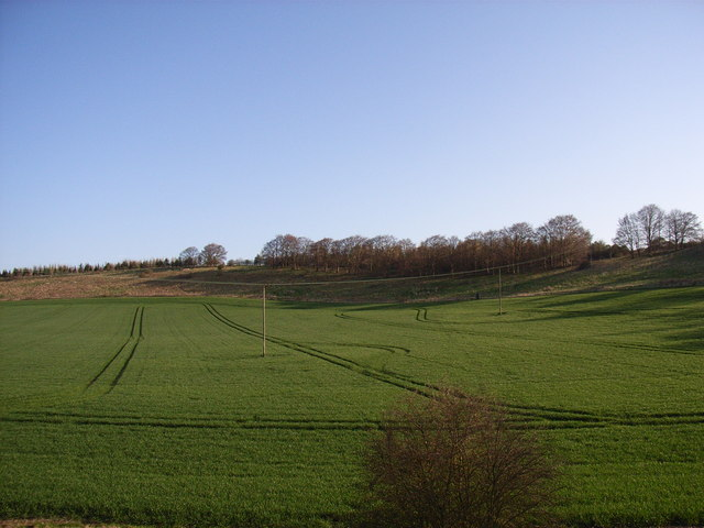 Farmland near Brightwell