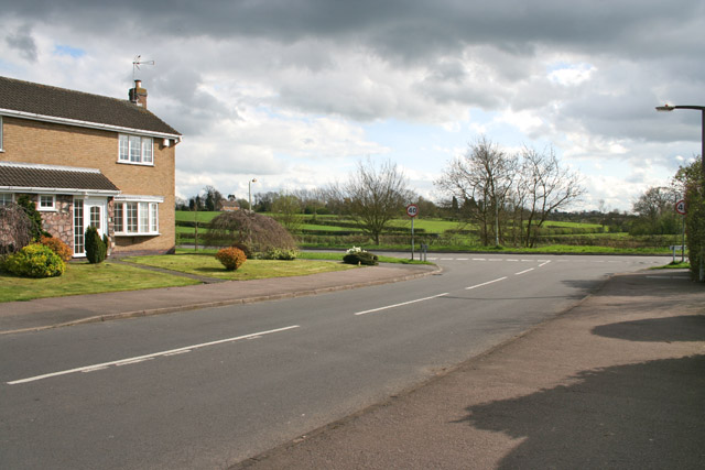 The Southern End of Chitterman Way, Markfield