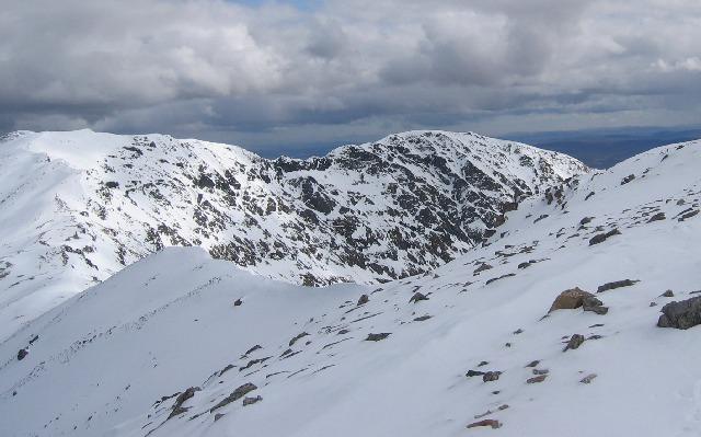 Eastern ridge of Conival
