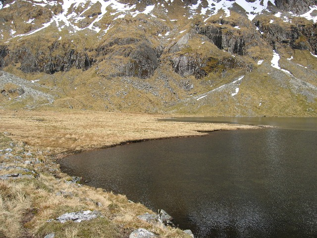 Northern end of Dubh Loch Mor