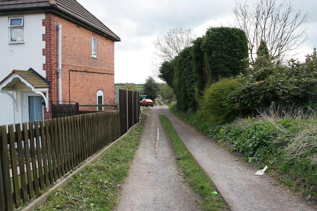 Captain's Lane, Markfield