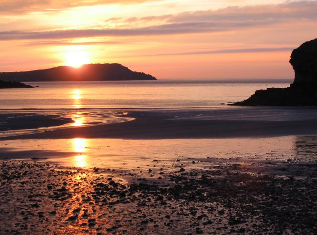 Sunset at Cemaes Bay