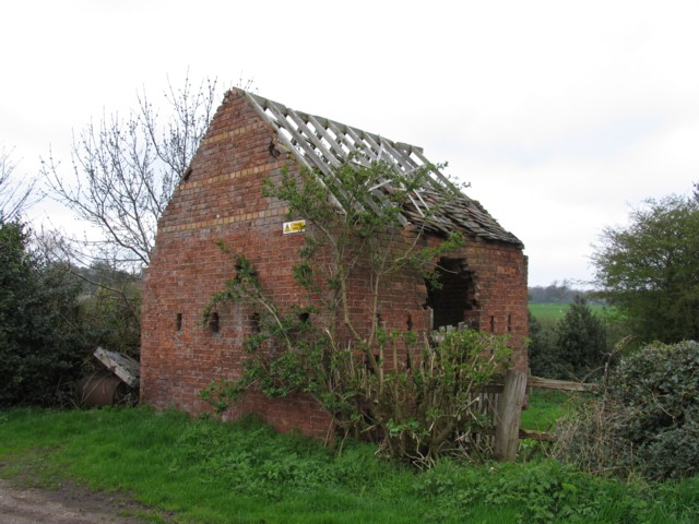 Derelict barn or stable?