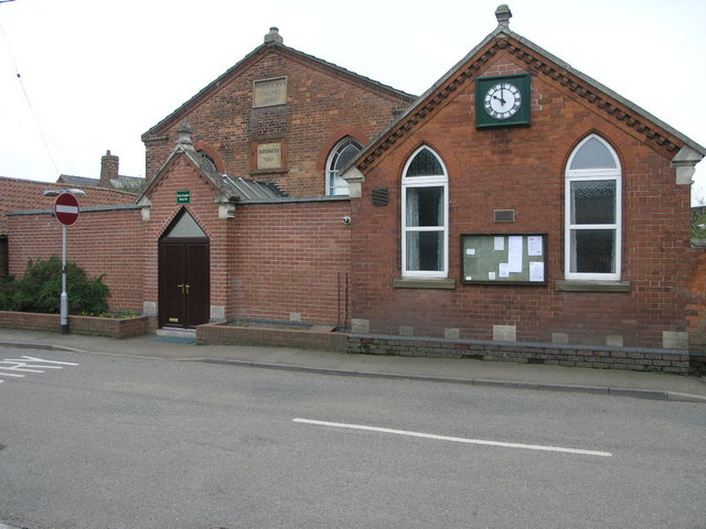 Chapel now Hall