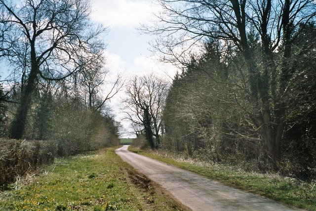 Minor road near Sarsden House