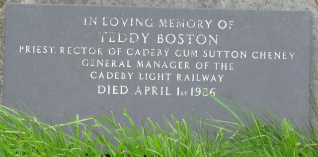 Rev Teddy Boston RIP
