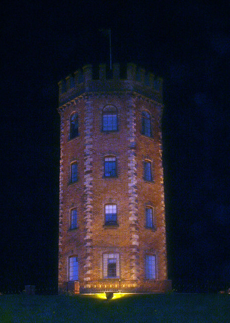 The Towers Hotel at Night
