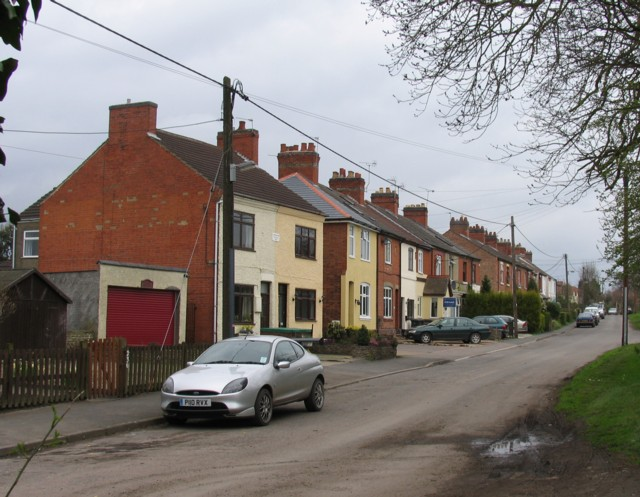 Old terraced housing
