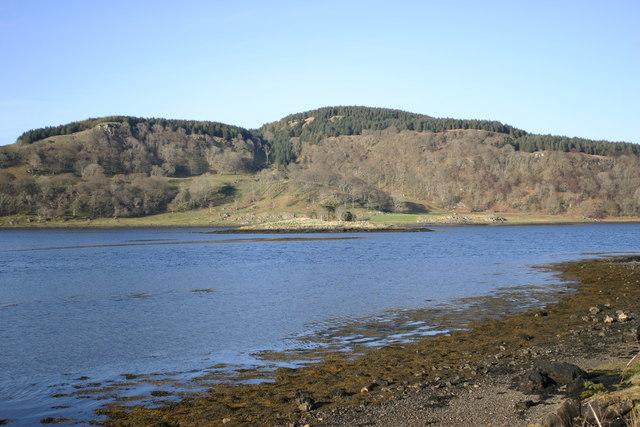 Looking across Loch Feochan