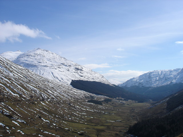 Laigh Glencroe as viewed from Rest and be Thankful