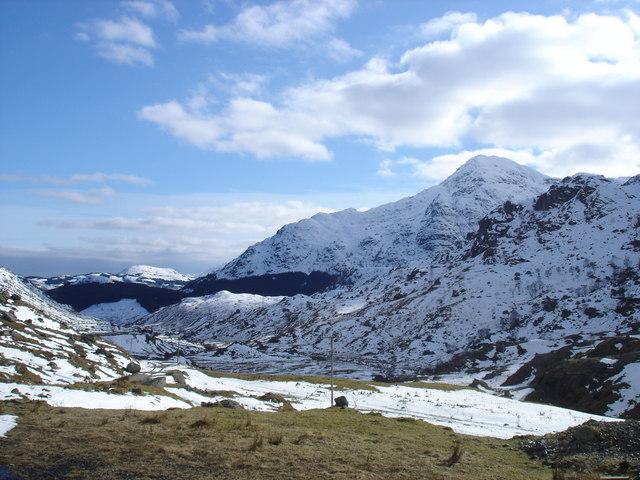 A 'Chrois, below the summit of Beinn Narnain
