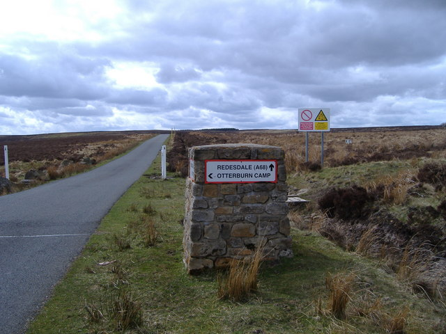 Turn left here for Otterburn