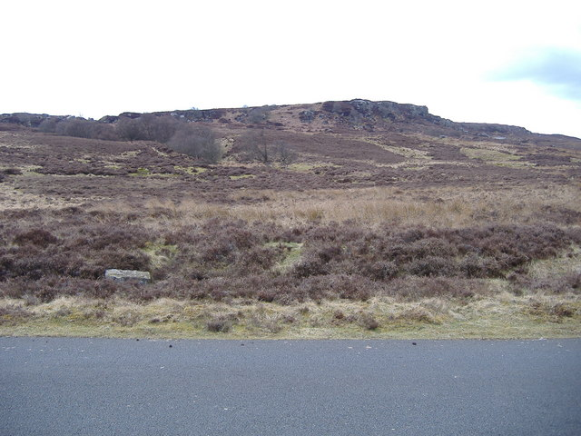 Moorland, some rocks, otherwise nothing.