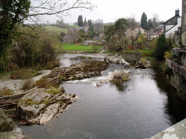 The Wye at Rhaeadr