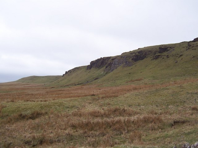 Line of Crags above Middle Pasture