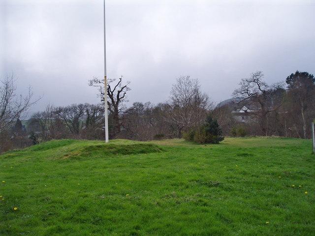 Site of Rhaeadr Castle