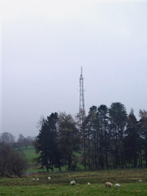 Radio Mast near Rhayadr