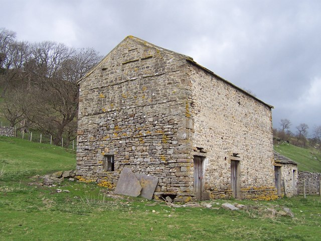 Stone Barn below Odlin Holes Wood