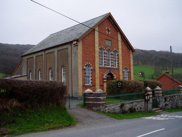 Chapel at Nantgwyn