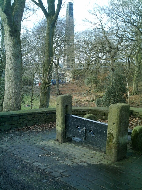 The Stocks, Old 'lodge' & Mill at Withnell Fold