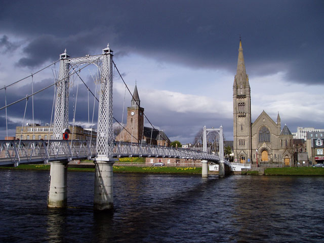 Greig Street footbridge, Inverness