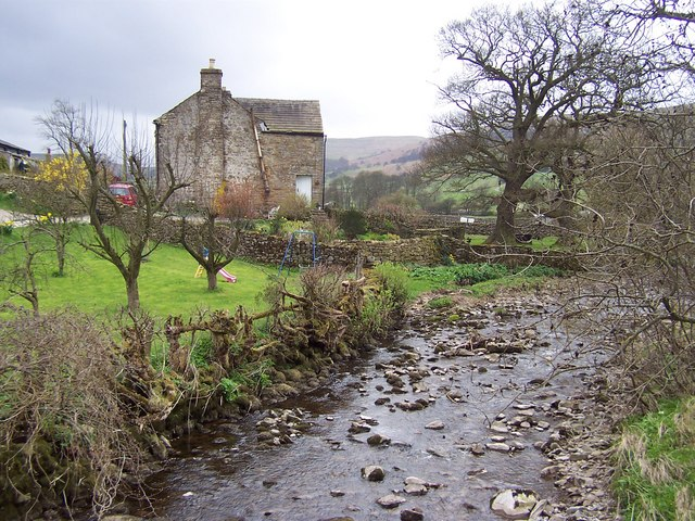 Bishopdale Beck by Ribba Hall