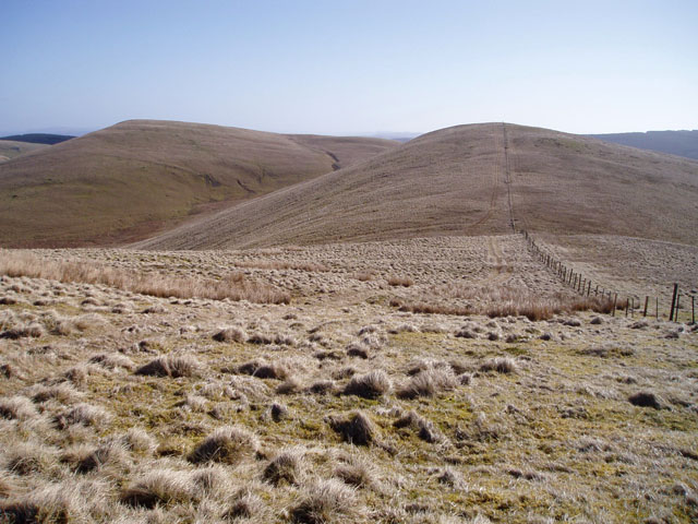 Sim's Hill from Broad Law