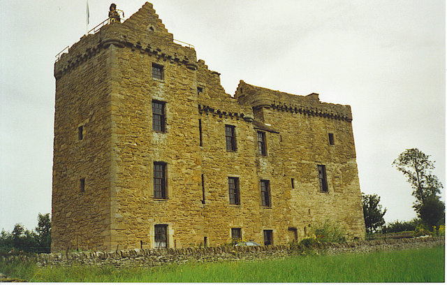 Huntingtower Castle.
