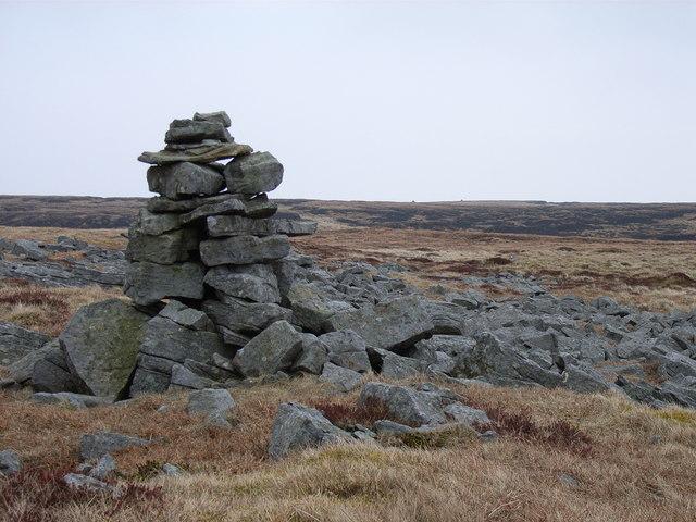 Cairn on Dufton Fell