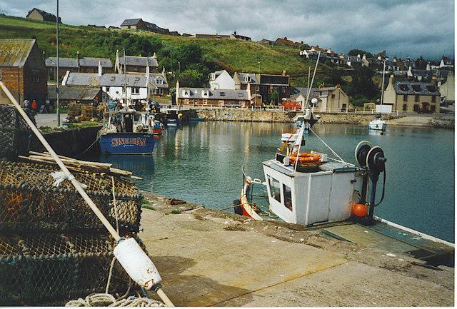 Fishing Boats at Gourdon.