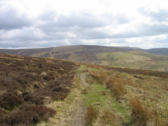 Bridleway below Tarnmonath Fell