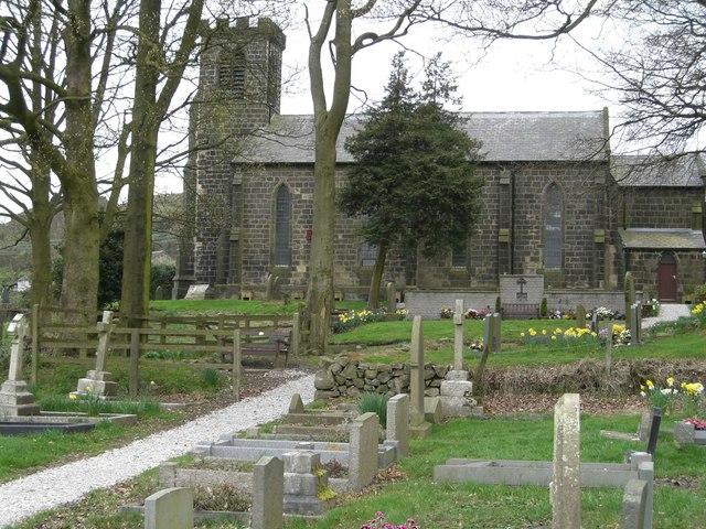 St Thomas Church, Mow Cop